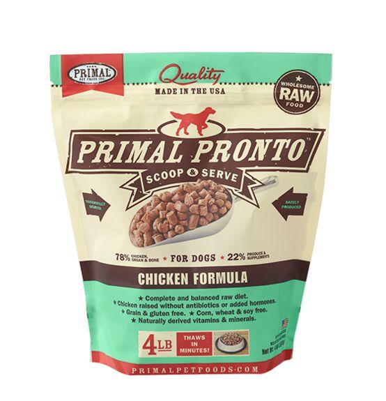 Primal Primal Pronto Frozen Raw Dog Food Chicken
