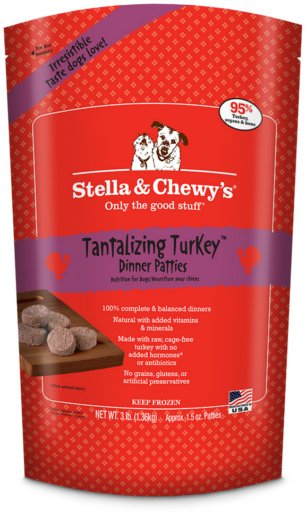Stella & Chewys Stella & Chewy Frozen Raw Dog Food Turkey Dinner
