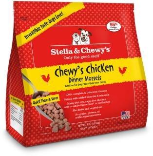 Stella & Chewys Stella & Chewy Frozen Raw Dog Food Chicken Morsels 4 lb.
