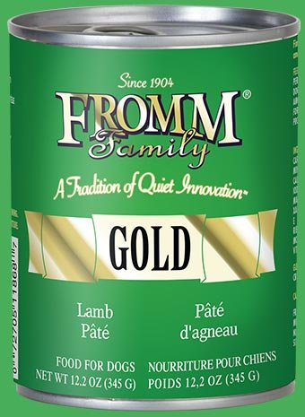 Fromm Fromm Gold Dog Can Lamb Pate 12.2 oz