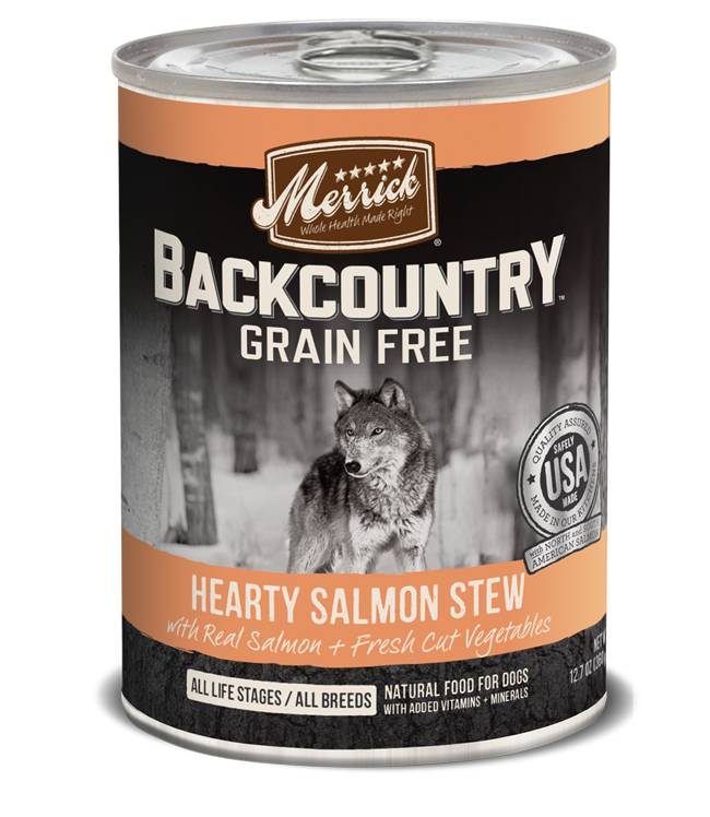 Merrick Merrick Backcountry Salmon Stew Can Dog Food