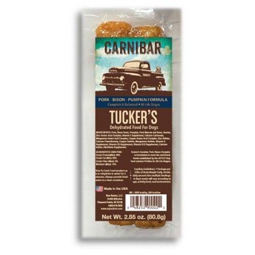 Tuckers Tuckers Carnibar Pork-Bison-Pumpkin