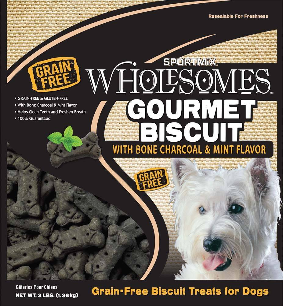 Sportmix Sportmix Wholesomes Premium Select Biscuits Charcoal 3lb.