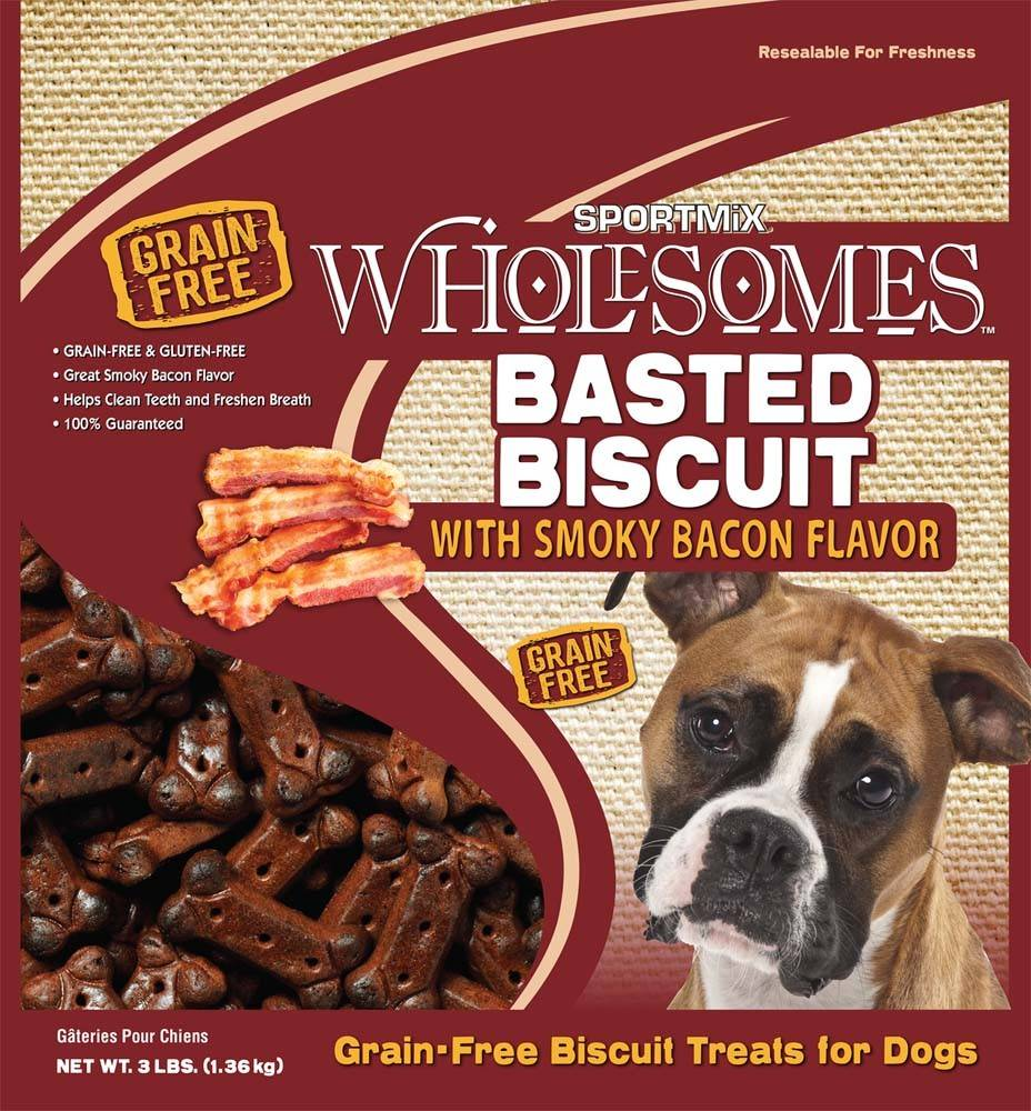 Sportmix Sportmix Wholesomes Premium Select Biscuits Bacon 3lb.