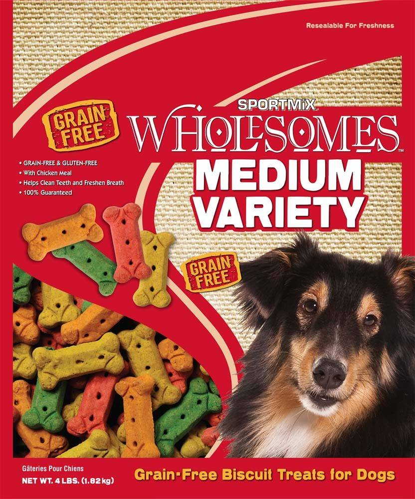 Sportmix Sportmix Wholesomes Biscuits Variety Medium