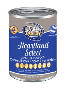 Nutri Source Nutri Source Grain Free Heartland Select Can Dog Food  13 oz
