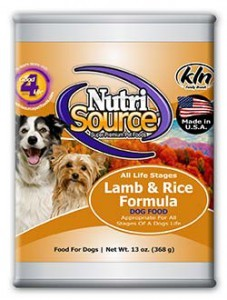 Nutri Source Nutri Source Lamb/Rice Can Dog Food 13 oz.