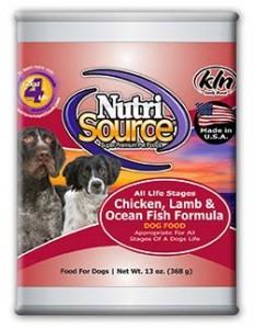 Nutri Source Nutri Source Chicken/Lamb/Fish Can Dog Food 13 oz.
