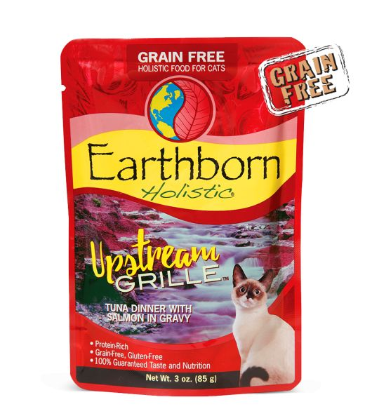 Earthborn Earthborn Cat Grain Free Upstream Tuna Pouch 3 oz.