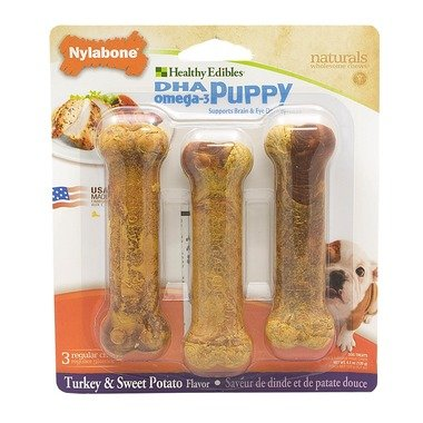 Nylabone Puppy Edibles Turkey