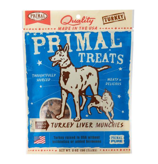 Primal Primal Liver Munchies Turkey 2 oz.