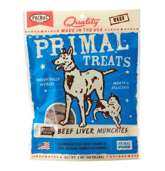Primal Primal Liver Munchies Beef 2 oz.