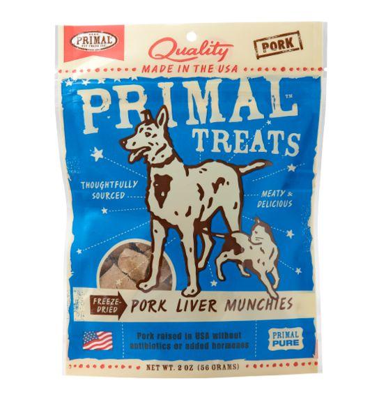Primal Primal Liver Munchies Pork 2 oz.