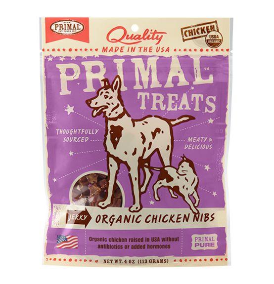 Primal Primal Jerky Nibs Chicken 4 oz.