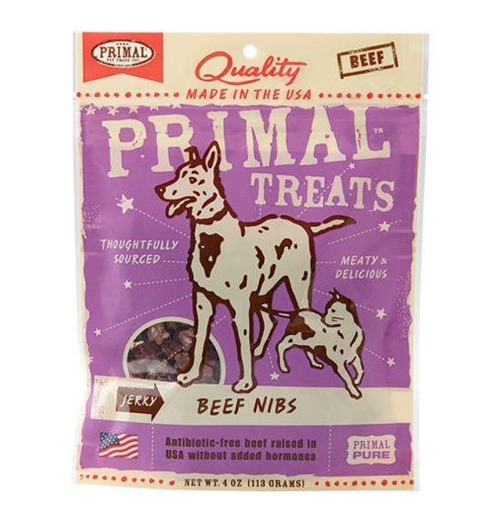 Primal Primal Jerky Nibs Beef 4 oz.