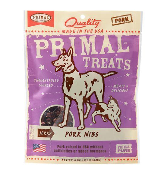 Primal Primal Jerky Nibs Pork 4 oz.