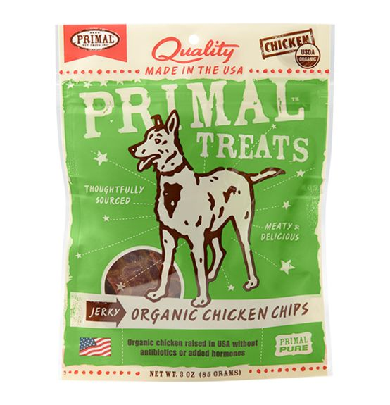 Primal Primal Jerky Chips Chicken 4 oz.