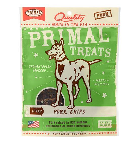 Primal Primal Jerky Chips Pork 4 oz.