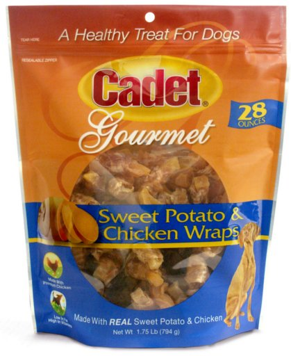 Cadet Cadet Sweet Potato & Chicken Wraps
