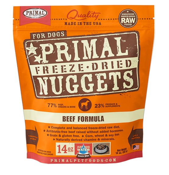 Primal Primal Raw Freeze Dried Canine Beef