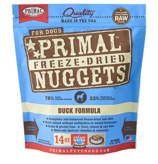 Primal Primal Raw Freeze Dried Canine Duck