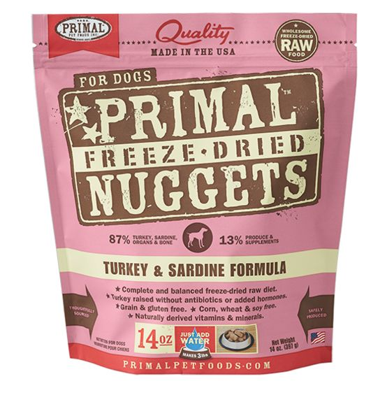 Primal Primal Raw Freeze Dried Canine Turkey