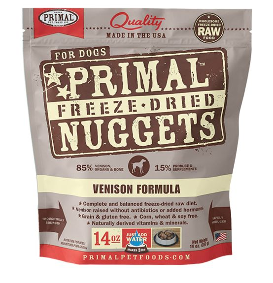 Primal Primal Raw Freeze Dried Canine Venison