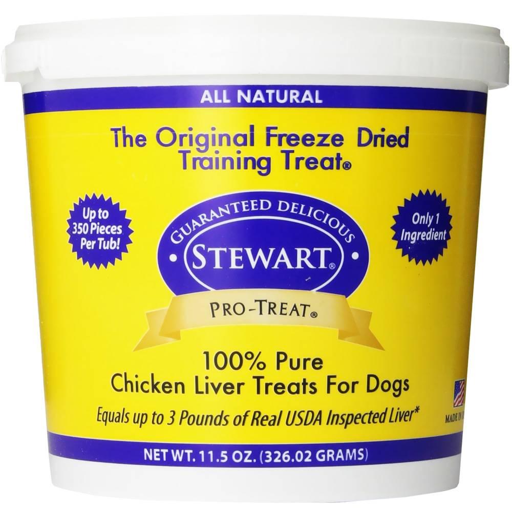 Stewart Pro-Treat Freeze Dried Chicken Liver