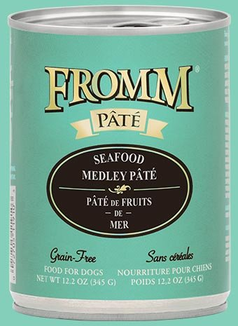 Fromm Fromm Dog Can Seafood Medley Pate 12.2 oz
