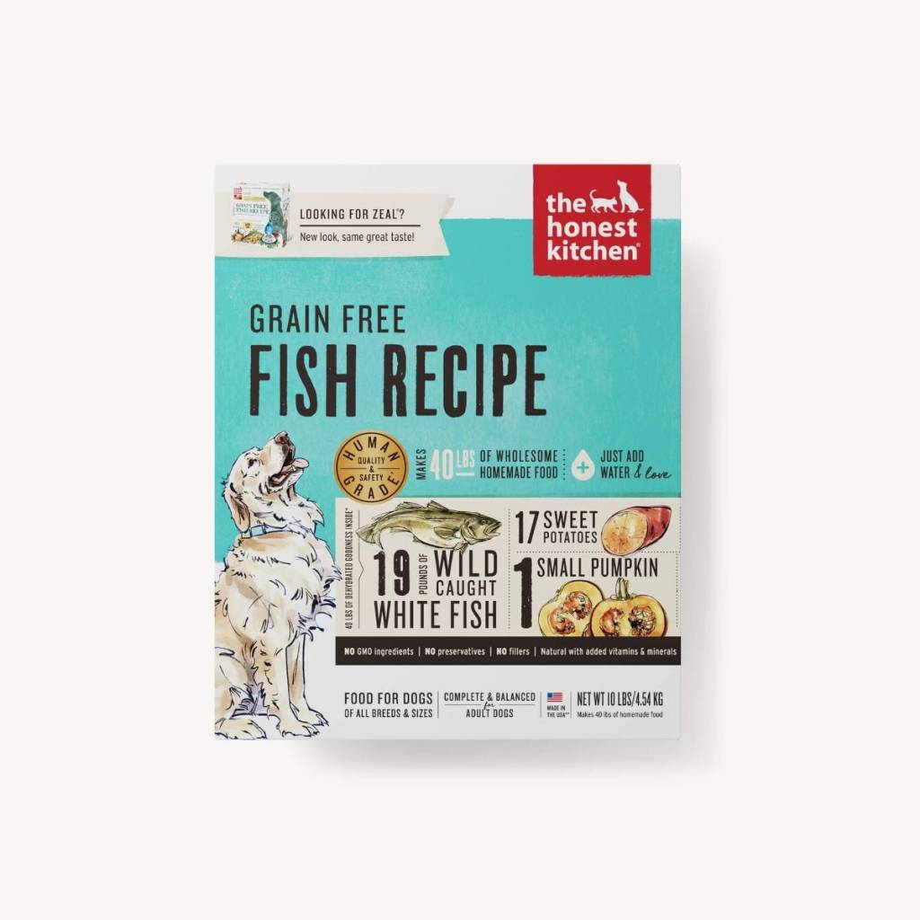 Honest Kitchen Honest Kitchen Zeal Grain Free Fish Dog Food