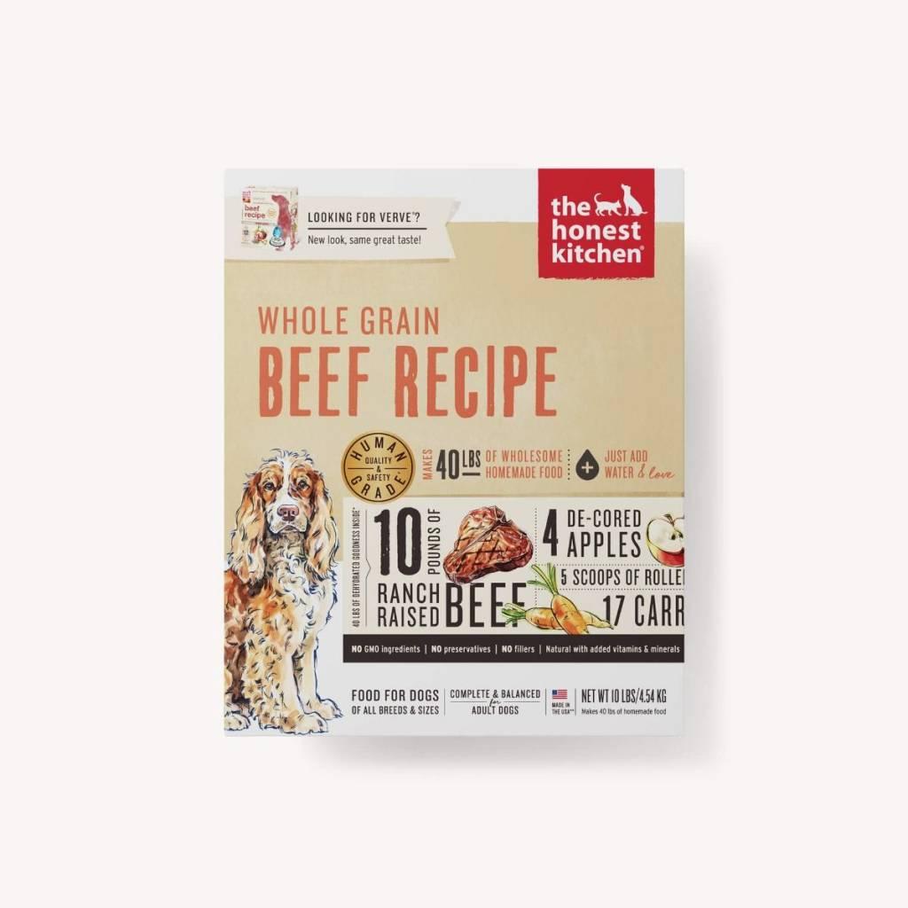 Honest Kitchen Honest Kitchen Verve Whole Grain Beef Dog Food
