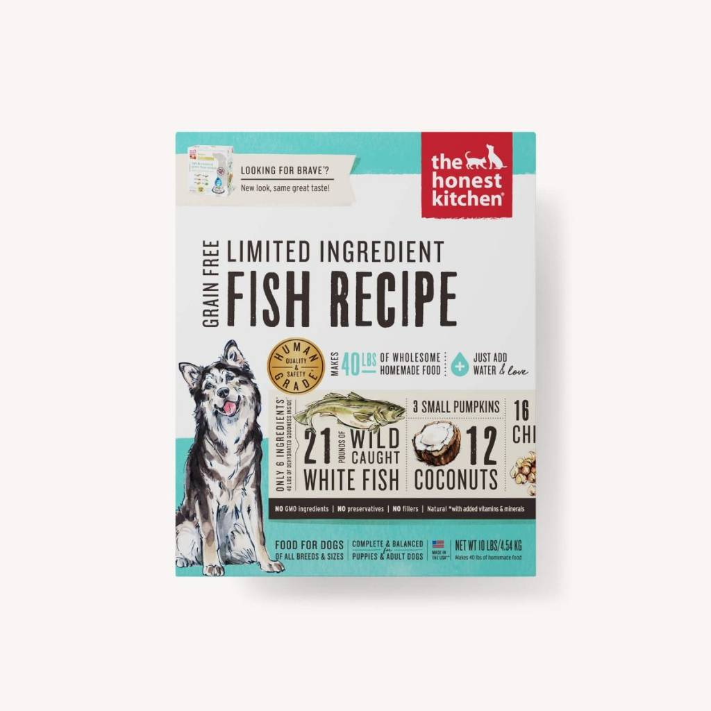 Honest Kitchen Honest Kitchen Brave LID Fish Dog Food