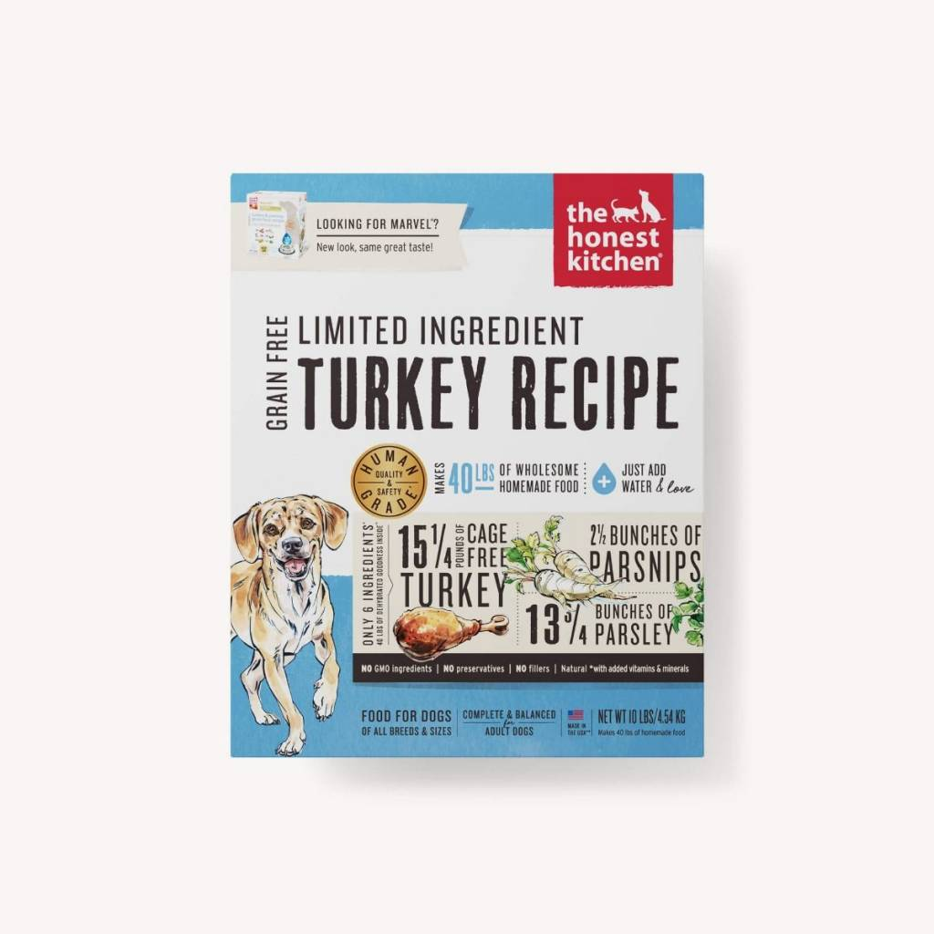 Honest Kitchen Honest Kitchen Marvel LID Turkey Dog Food