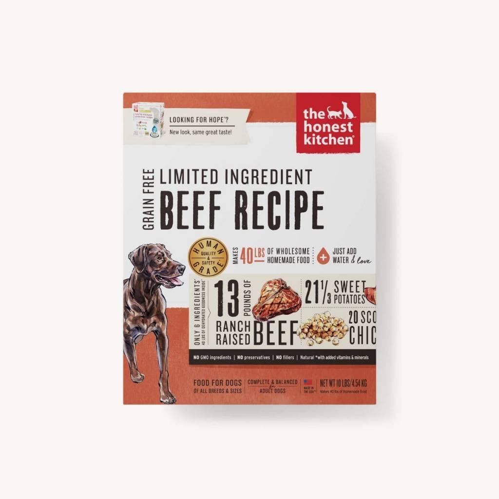Honest Kitchen Honest Kitchen Hope LID Beef Dog Food