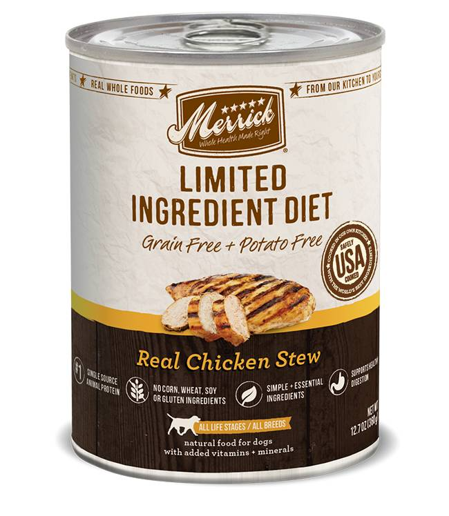 Merrick Merrick LID Can Dog Food Chicken 12.7 oz.