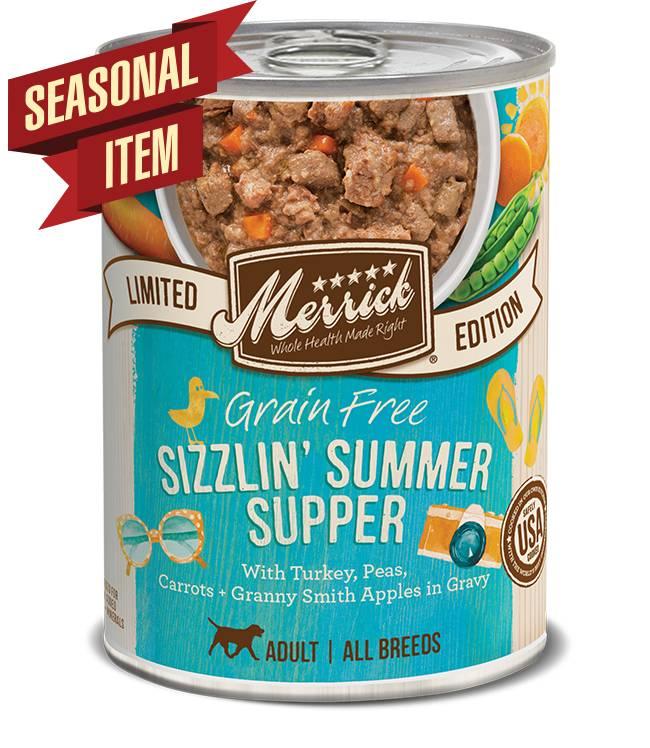 Merrick Merrick Summer Seasonals Sizzlin Summer Supper 12.7 oz