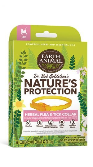 Earth Animal Earth Animal Nature's Protection Herbal Flea Collar Cat