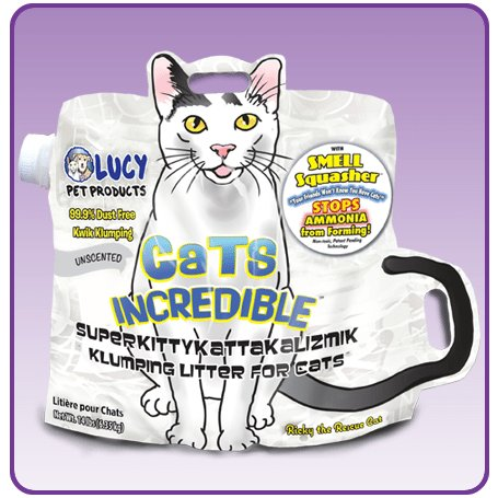 Lucy Pet Lucy Pet Cats Incredible Unscented Cat Litter