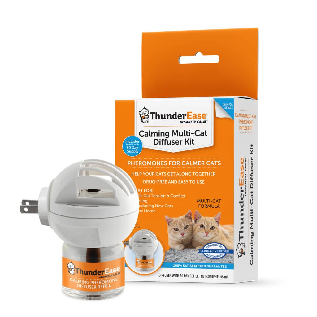 Thundershirt ThunderEase Multi-Cat Calming Diffuser Kit