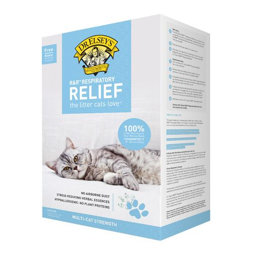 Dr. Elsey's Dr. Elsey's Respiratory Relief Silica Gel Cat Litter 7.5 lb.