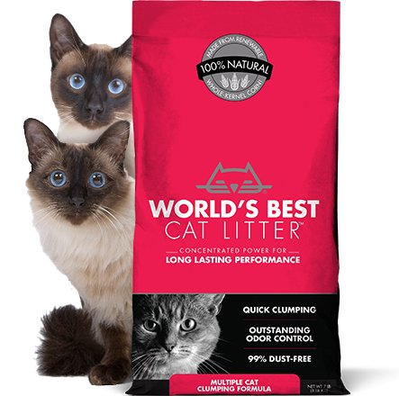 World's Best World's Best Multi-Cat Cat Litter