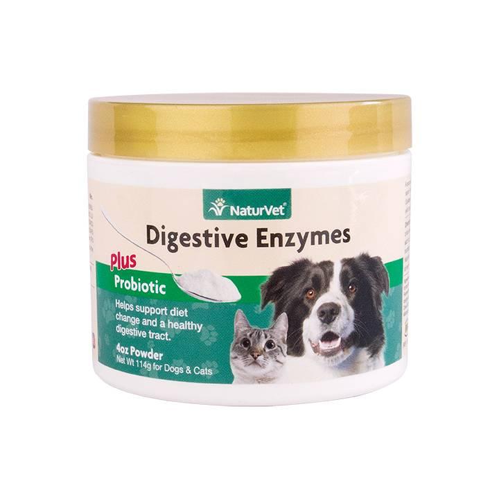 NaturVet NaturVet Digestive Enzymes Plus Probiotic Powder