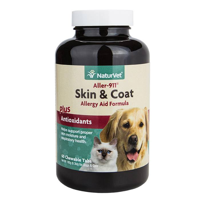 NaturVet NaturVet Skin & Coat Plus Breath Aid Soft Chew 70 ct