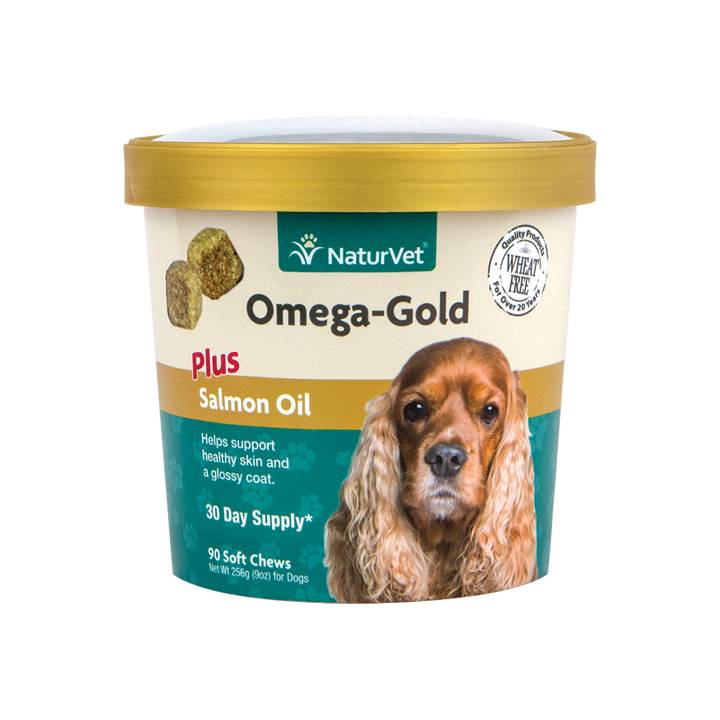 NaturVet NaturVet Omega Gold Plus Salmon Oil Soft Chew 90 ct