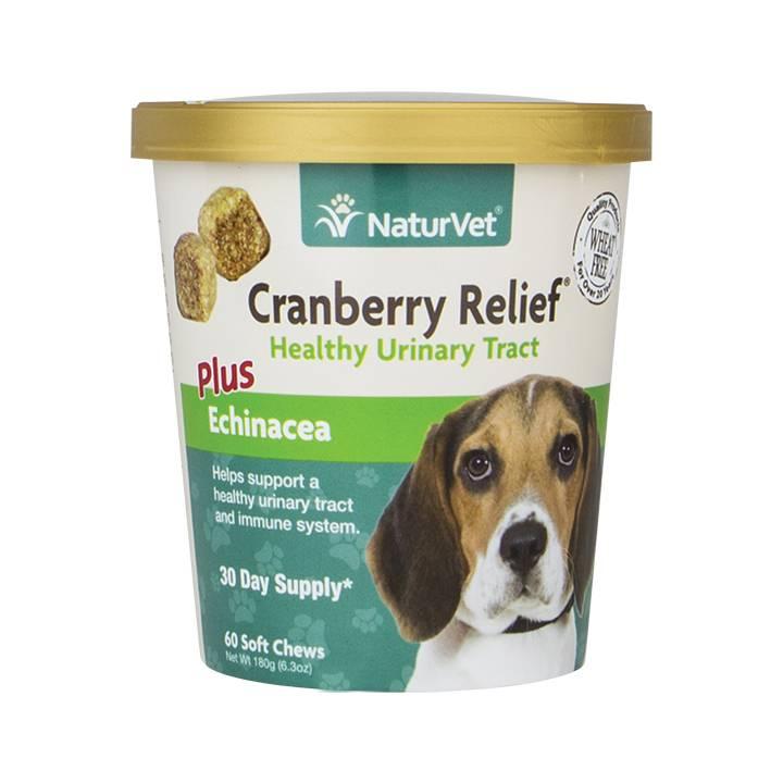 NaturVet NaturVet Cranberry Relief Plus Echinacea Soft Chew 60 ct