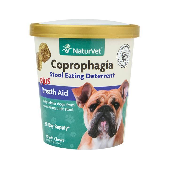 NaturVet NaturVet Coprophagia Deterrent Plus Breath Aid Soft Chew 70 ct