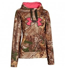 UNDER ARMOUR UNDER ARMOUR WOMEN'S CAMO BIG LOGO HOODY REALTREE AP-XTRA SMALL