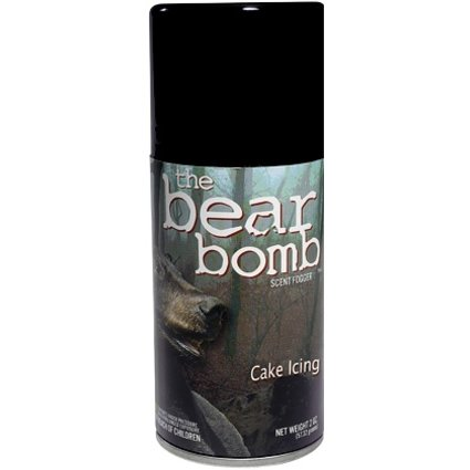THE BEAR BOMB CAKE ICING