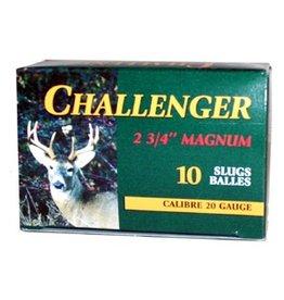CHALLENGER CHALLENGER 20GA 7/8OZ SLUG 10 SLUGS