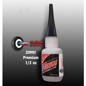 FLEX-FLETCH ZING! ADHESIVE/HEAVY DUTY GLUE .7OZ